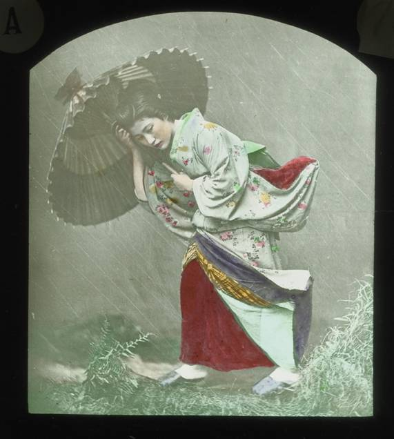 The images in the lantern slides Annie collected and used to illustrate her lectures were often exquisite. That these fragile glass slides survived multiple shipments by ship and train during the course of Annie's trip is remarkable. That they were found intact more than 100 years later seemed equally remarkable.